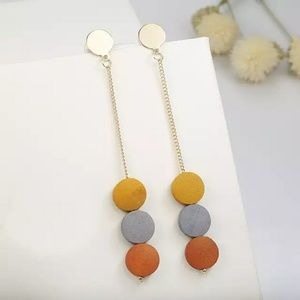 Jewelry - 🦋New! Colorful Modern Drop Earrings